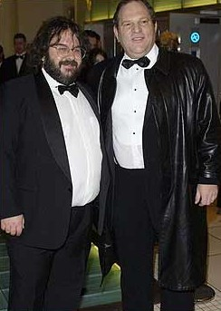 Harvey Weinstein a Peter Jackson