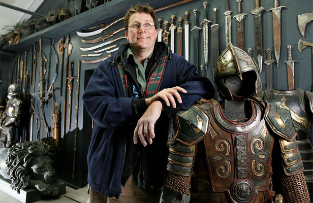 Richard Taylor, ředitel Weta Workshop