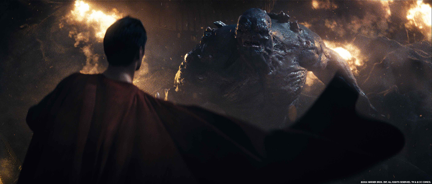 Doomsday Batman v Superman VFX